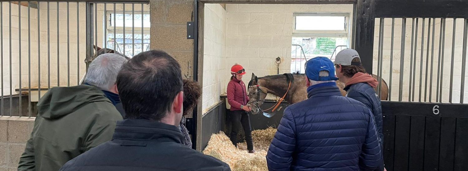 Owners return for stable visits!
