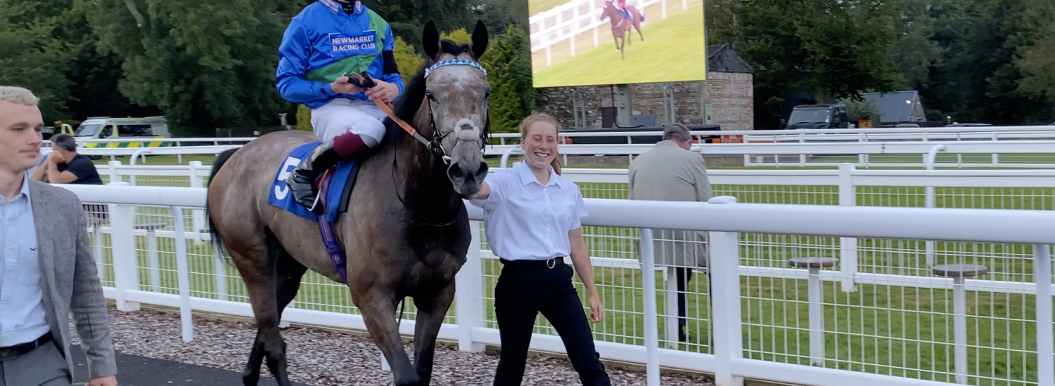 A promising racecourse debut for Iconique…